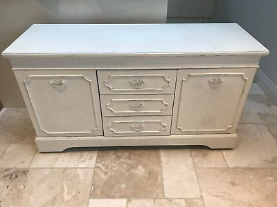 Shabby chic distressed sideboard