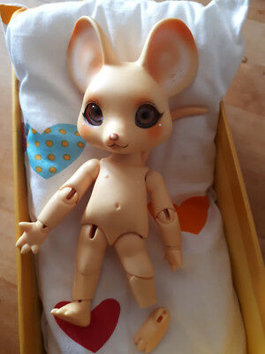 Pipos Cheese Mouse Full Doll (Chou) BJD Doll - Yellow