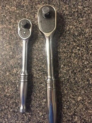 """SNAP-ON 1/2"""" DRIVE RATCHET S936 And 3/8"""" Drive F730!. Used!.. No Reserve!.."""