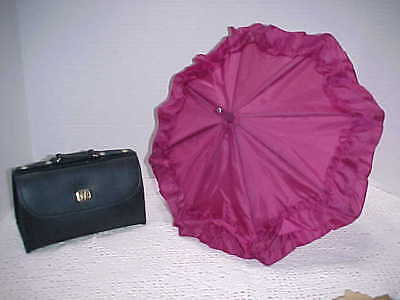 American Girl-Pleasant Company Samantha's Parasol,valise  Travel Accessories