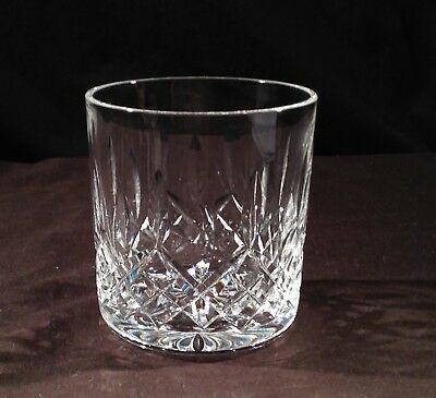 A Waterford Crystal D.O.F. Tumbler in the Lismore Cut