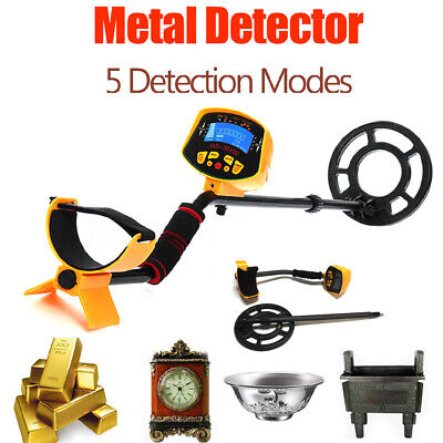 LCD Metal Detector Gold Digger Light Hunter Deep Sensitive Search Waterproof New