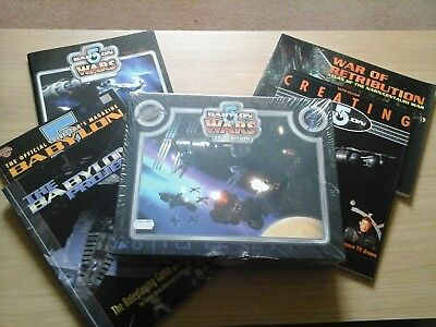 Babylon 5 Wars Board game  & RPG and miniatures