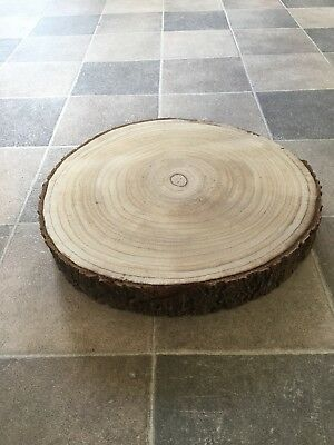 Large Wooden rustic Wedding Cake Stand centrepiece light weight!
