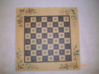 Vintage draughts / chess board