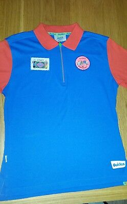 Girl guide polo shirt size 32""