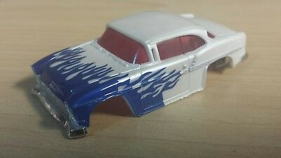Dash motorsports afx xtraction 55 Chevy white w/flames red glass