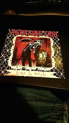 "alkaline trio - time to waste red 7"" single"