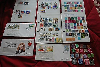 GB Used Stamps and First Day Covers