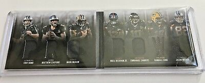 PRO BOWL Booklet 2016 Panini Preferred 7X Jersey Relic Romo Stafford Odell Cobb