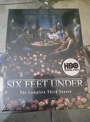 Six Feet Under - The Complete Third Season (DVD). Brand New!! Factory Sealed!!
