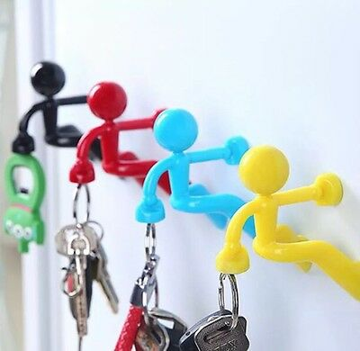 NEW! GREEN - Magnetic Man Key Holder Funky Gift Key Finder Home Office