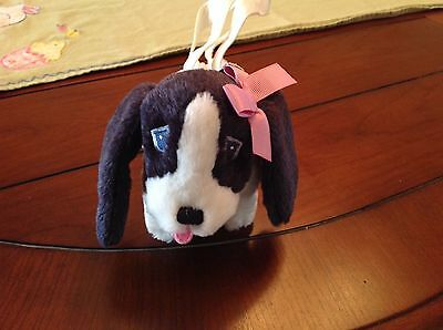 Gymboree Puppy Dog Plush Bag Pocketbook New Without Tags