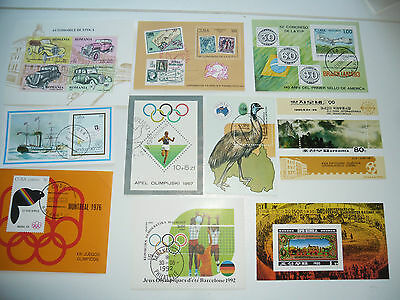 Mixed Mini Sheets 10 Different ( 1 )