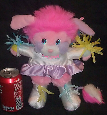 Peluche Vintage Collection Popples Pom Pom Girl Rose Party Années 80' 20