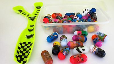 Mighty Beanz Jumping Beans Toy  Collection and Launcher