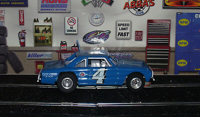 1/32 Custom Steel chassis, Resin Body, '63 Ford Falcon Dirt Track Slot Car