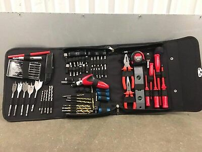 Makita P-46517 96 Piece Electricians Drill Screwdriver Tool Kit With Pouch