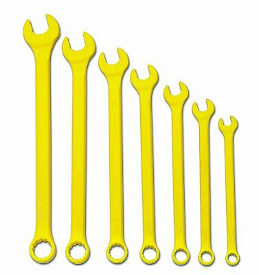 New Snap-On's Williams Brand  7-Piece Yel Combination Wrench Set P# WS-1170YSC