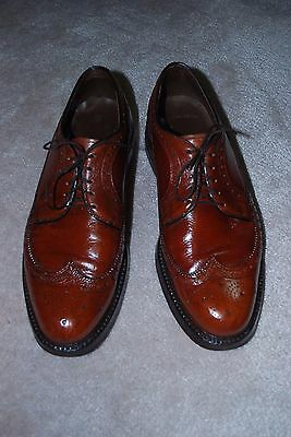 CLASSIC MADE in MONTREAL VINTAGE Matthew DACK MEN'S BROGUE SHOES SIZE 11 D