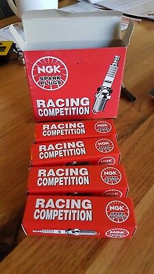 NGK Racing Competition Spark Plugs B9EGV x 4