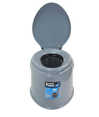 New 5L Portable Toilet Compact Potty Loo Camping Caravan Picnic Fishing Festival