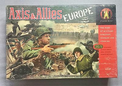 Avalon Hill - AXIS & ALLIES War Game Europe Edition - Complete  - 1999