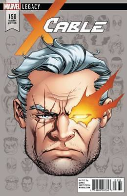 Cable #150 Head Shot 1:10 Variant Cover NM