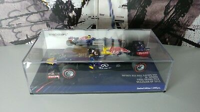 Minichamps Red Bull Racing RB9 F1 2013 Brazilian GP Final Grand Prix 1/43