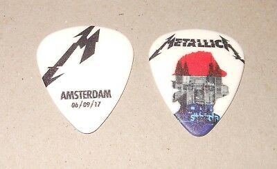 Metallica RARE AMSTERDAM #2 NETHERLANDS ZIGGO DOME SEPT 6 2017 Tour Guitar Pick