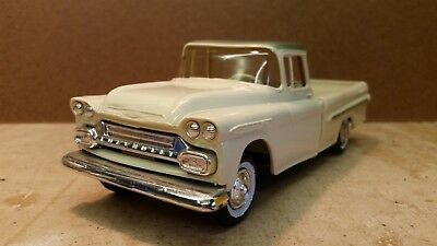 Super Nice 1959 Chevrolet Apache 32 Pickup Truck Friction Promo - 2 Tone Green