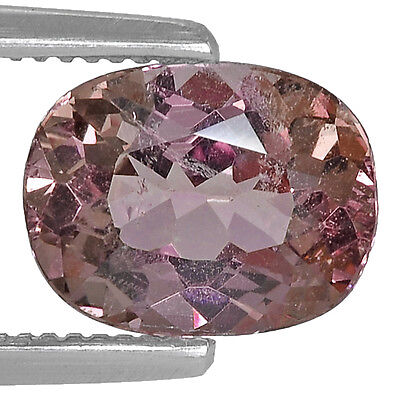 2.40Cts Natural Malaya Garnet Color Change Pink Peach To Red Pink Gemstone