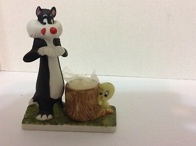 Sylvester And Tweety Candle Holder