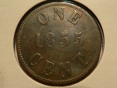 Canada Token 1855 Fisheries And Agriculture Breton 920 Charlton Pe-6A1
