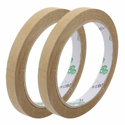 2pcs 10mmx23M Seal Pack Hot Melt Adhesive Electrical Insulation Tape Tawny