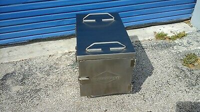 Food Carrier Vollrath Holding Cabinet Insulated Transport**all Stainless Steel**