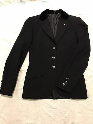 Ladies Size 10 Black Euro-star Competition Jacket