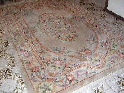 Traditional Vintage Chinese Woollen Carpet Rug 6'x8' 182mm x 223  HEATHMONT VIC