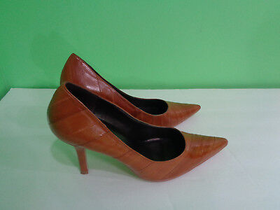 969030fe51cd Womens Shoes Heels Classic Moda Spana Brown Pointy Shoes Size 8 M