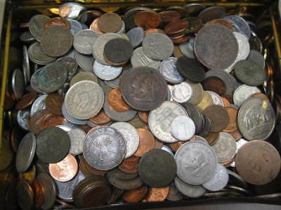 4.8Kg+ Mixed World Coins, as pictures