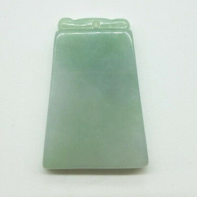 100% Chinese Natural A JADE Jadeite Lucky Pendant Necklace