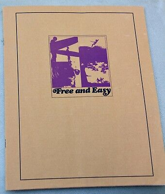 Vintage Rare Original Free and Easy Movie Booklet Brochure Surfing Surf 1960's