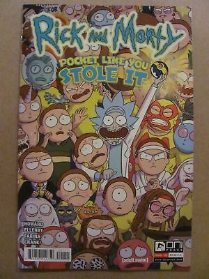 Rick and Morty Pocket Like You Stole It #1  NM