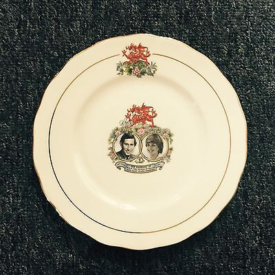Queen Anne Plate Made In England