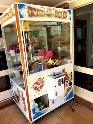 Skill Tester, Arcade Claw coin op machine prize redemption machine