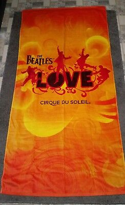 Brand NEW Officially Licensed The Beatles Love ~ 5 ft beach towel Great Gift!