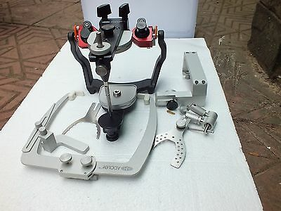 Dental Semi Adjustable Articulator With Facebow