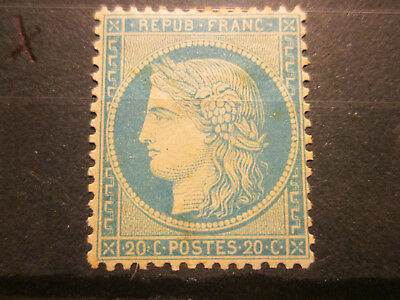 Timbre France Yt 37 Neuf X