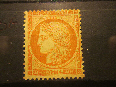 Timbre France Yt 38  Neuf Sg