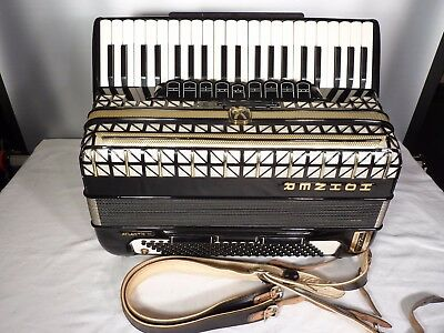 HOHNER ATLANTIC III   ACCORDION  120 / 3reeds   fully  working !!!  cheap  offer